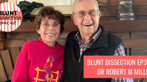 Blunt Dissection Podcast Ep31:Dr Robert M Miller - Equine Veterinarian, Cartoonist, Legend