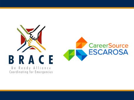 BRACE Receives $406,000 Subgrant Through CareerSource EscaRosa for Hurricane Sally Relief