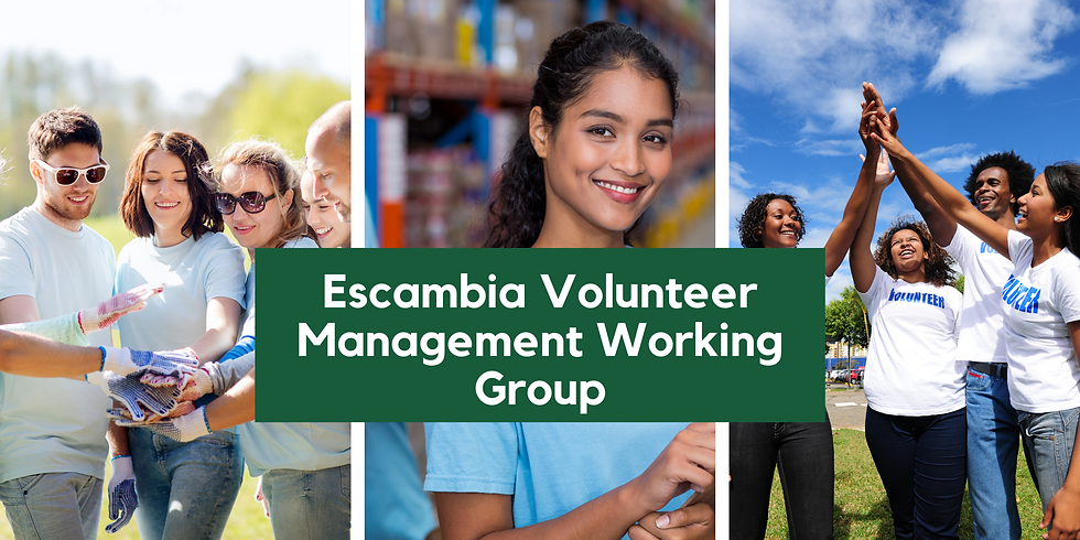 Escambia Volunteer Management Working Group Meeting