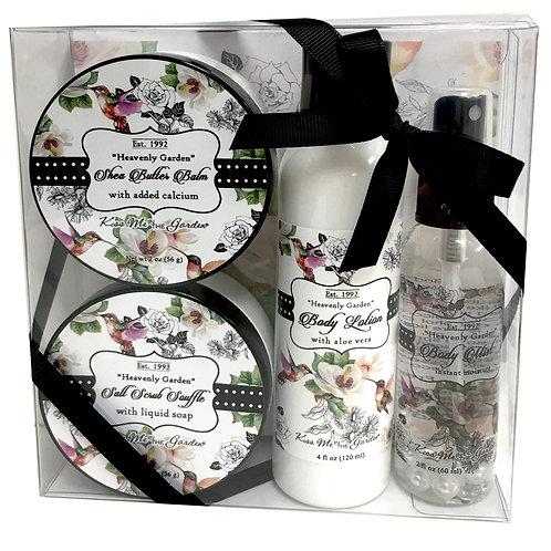 Heavenly Garden 4 pc Gift Set