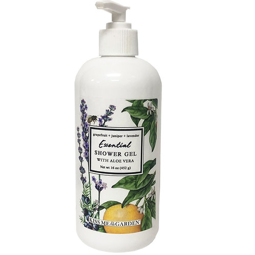 Grapefruit Shower Gel 16 oz