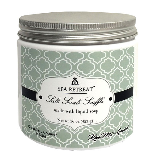 SPA Salt Scrub Souffle 16 oz