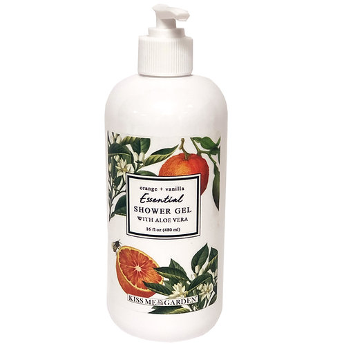 Orange Vanilla Shower Gel 16 oz
