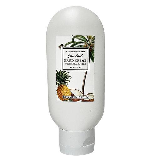 Pineapple Coconut 4 oz tube Hand Creme