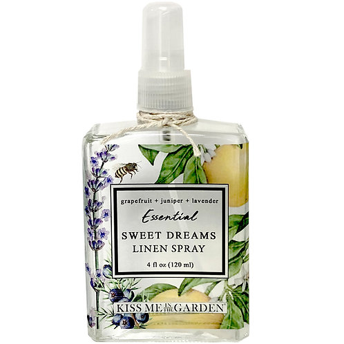 Grapefruit Linen Spray 4 oz (glass)