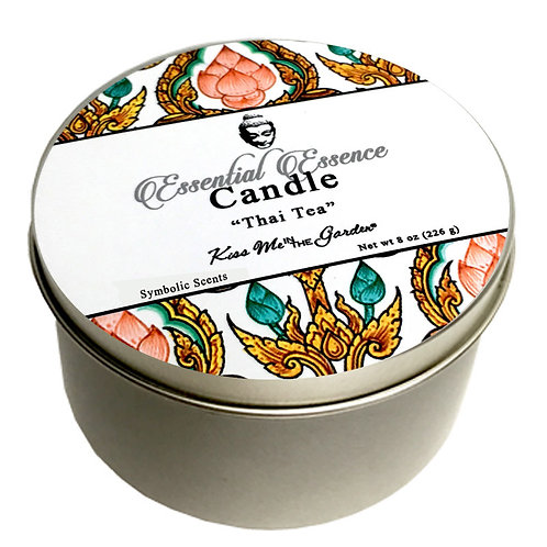 Thai Iced Tea Travel Candle