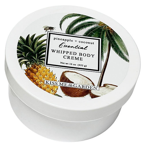 Pineapple Coconut 16 oz Whipped Body Creme