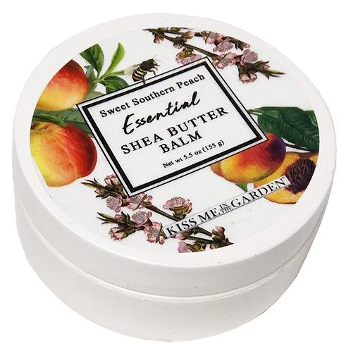 Peach Shea Butter Balm 5 oz