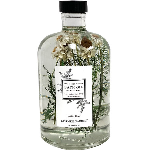 Bath Oil 16 oz (glass)