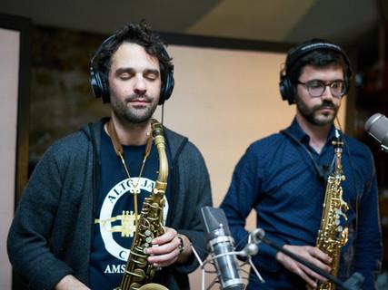 Benoit Crauste (left) - Saxophone