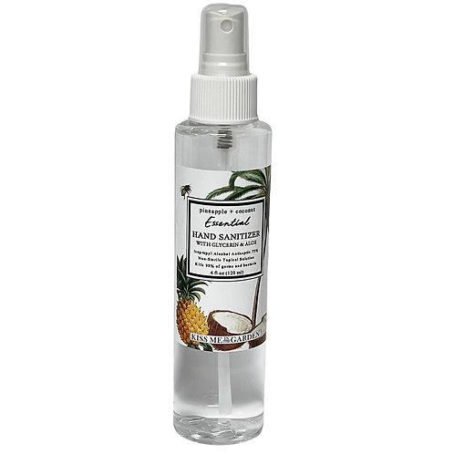 Pineapple Coconut 4 oz Hand Sanitizer