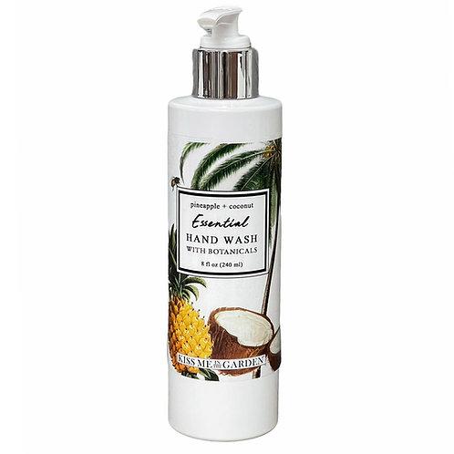 Pineapple Coconut 8 oz Hand Wash