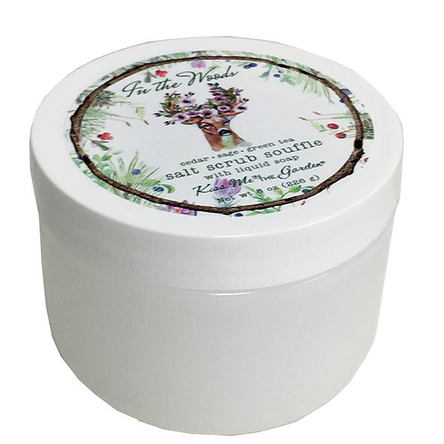 In The Woods Salt Scrub Souffle 8 oz