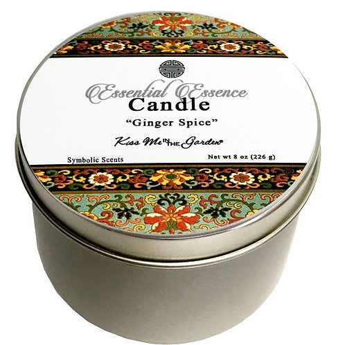 Ginger Spice Travel Candle