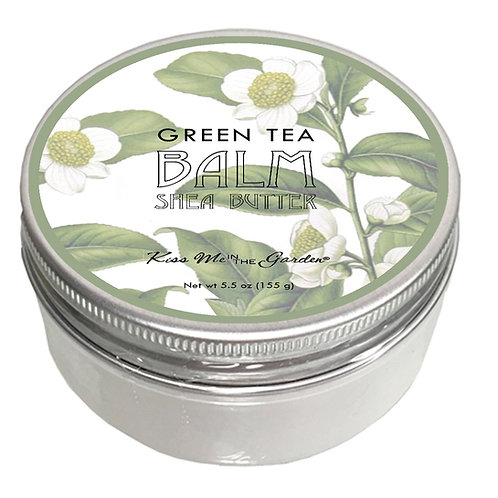GREEN TEA SHEA BUTTER BALM 5 oz