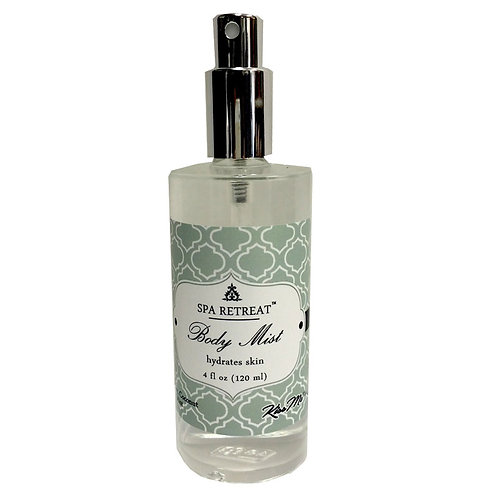 Body Mist 4 oz (glass)