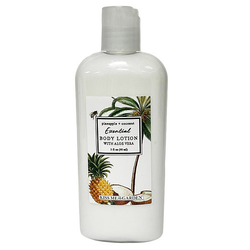 Pineapple Coconut 3 oz Body Lotion