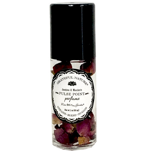 Grateful Nature Pulse Point Perfume 1 oz (glass)