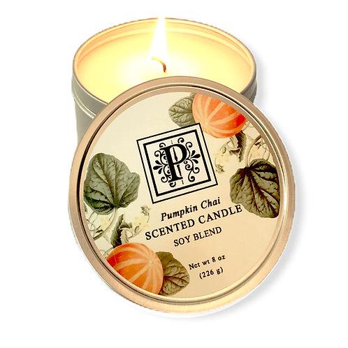 Pumpkin Chai Soy Candle 8 oz