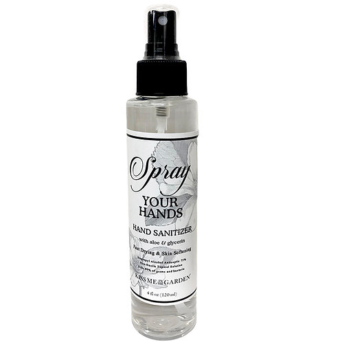 Spray Your Hands Hand Sanitizer 4 oz