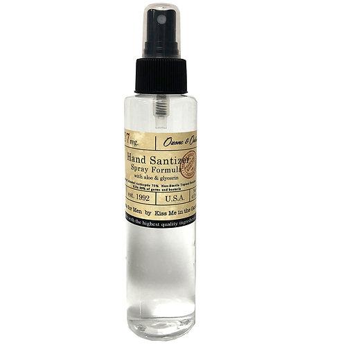 Hand Sanitizer SPRAY 4 oz - Men's Scent