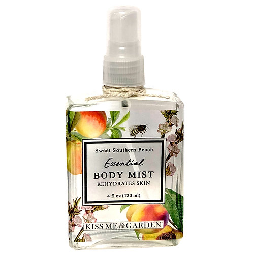 Peach Body Mist 4 oz (glass)