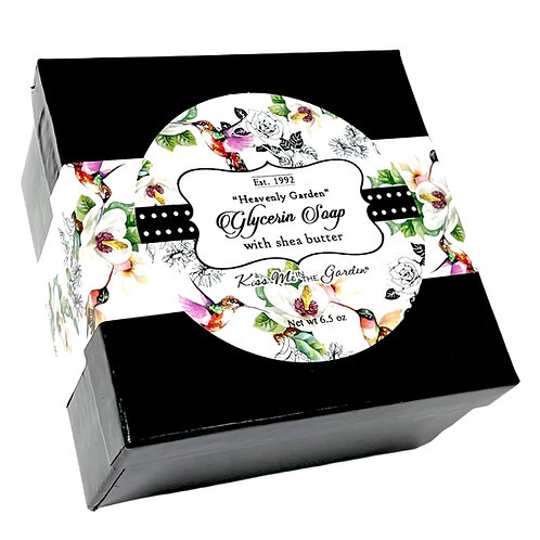 Heavenly Garden  Glycerin Soap Bar 6.5 oz