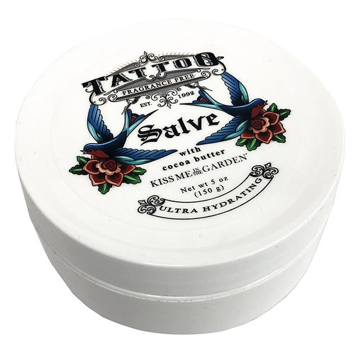 Tattoo Salve with natural oil and cocoa butter