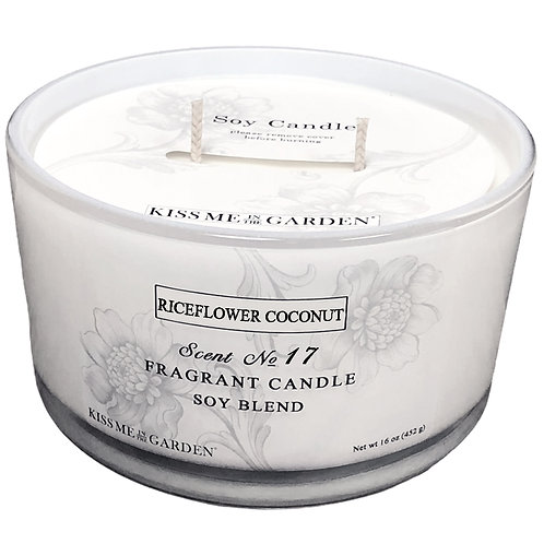 16 oz Riceflower & Coconut Candle