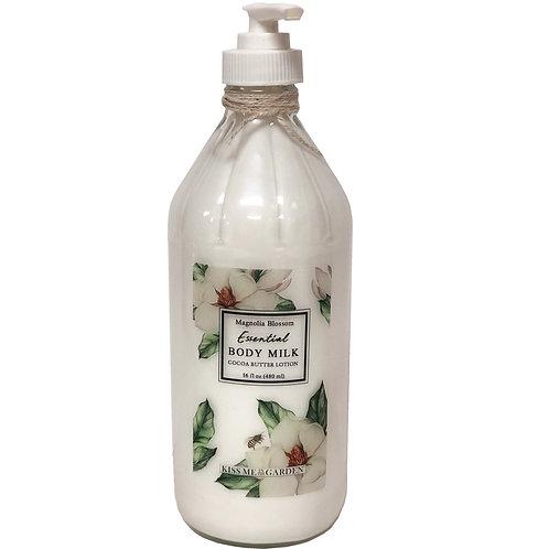 Body Milk 16 oz (glass)