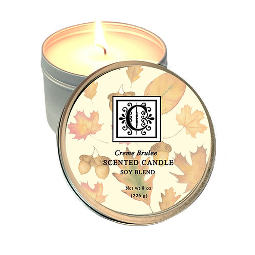 Creme Brulee Soy Candle 8 oz