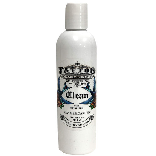 Unscented Wash for Tattoos 4oz