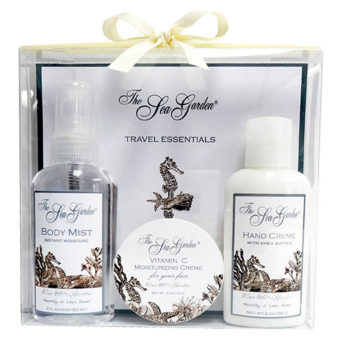 Sea Garden 3 pc Gift Set