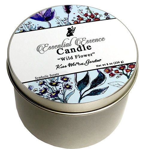 Wild Flower Travel Candle