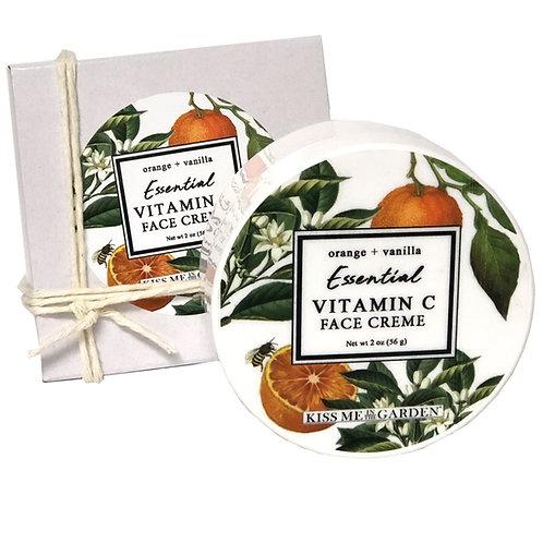 Orange Vanilla Face Creme 2 oz