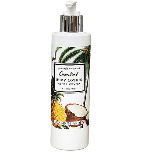 Pineapple Coconut 8 oz Body Lotion