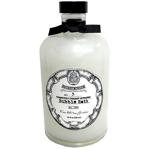 Custom Blend Bubble Bath 16oz (glass)