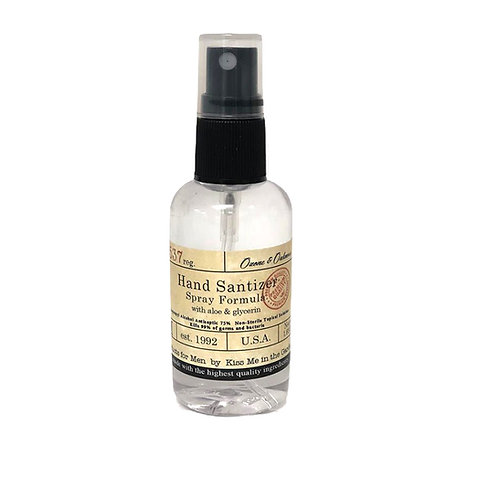 MINI Hand Sanitizer Spray  - Men's Scent