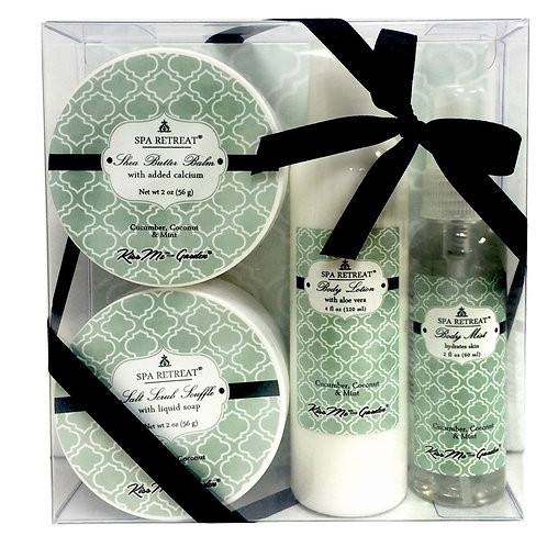 Spa Retreat 4 pc Gift Set