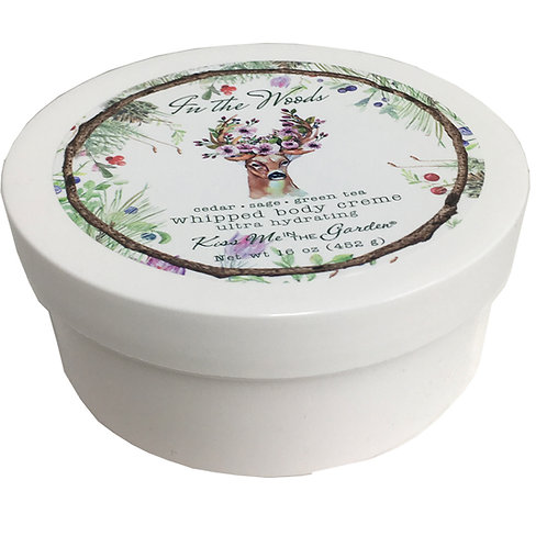 In The Woods Whipped Body Creme 16 oz