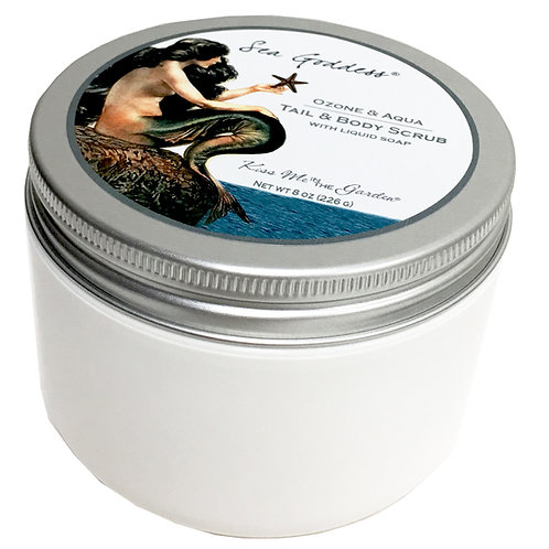 Sea Goddess Tail and Body Scrub 8 oz