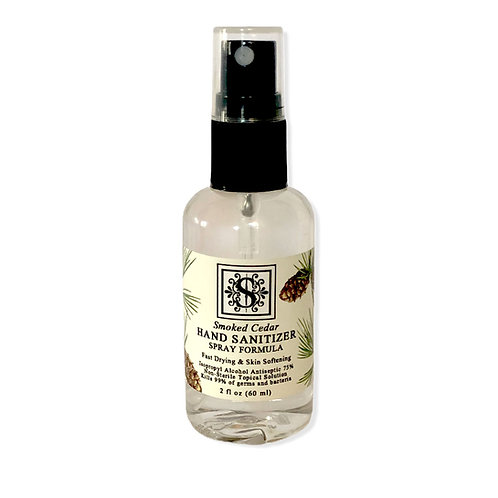 Smoked Cedar MINI Sanitizer 1.69 oz