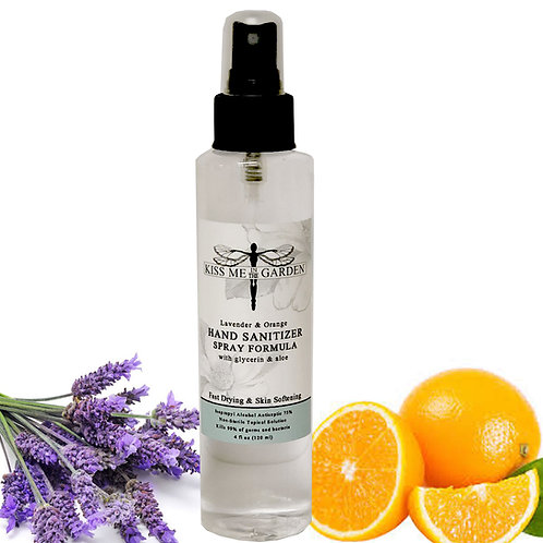 Hand Sanitizer 4 oz - Lavender Orange