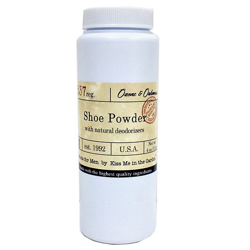 Scented Shoe Powder 4 oz