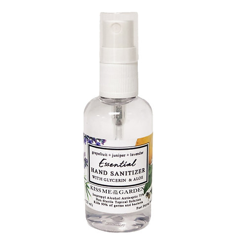 MINI Hand Sanitizer Spray - Grapefruit Juniper Lavender