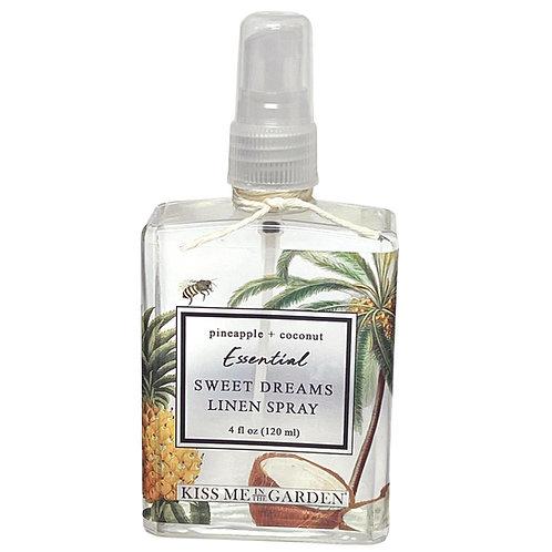 Pineapple Coconut 4 oz Linen Spray (glass) water based