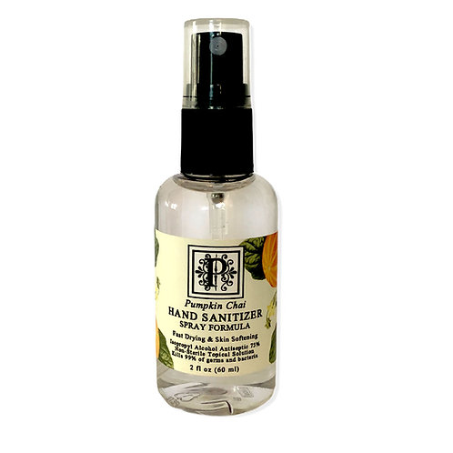 Pumpkin Chai MINI Sanitizer 1.69 oz