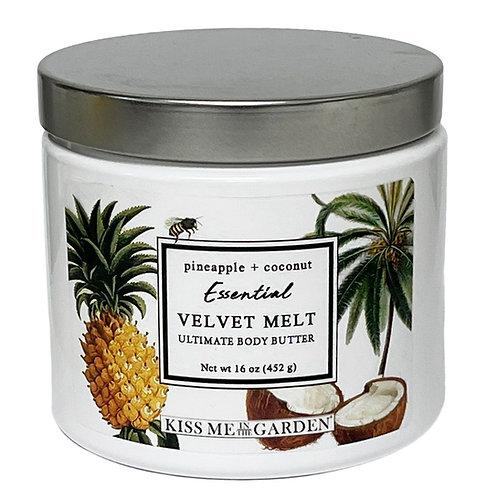 Pineapple Coconut 16 oz Velvet Melt