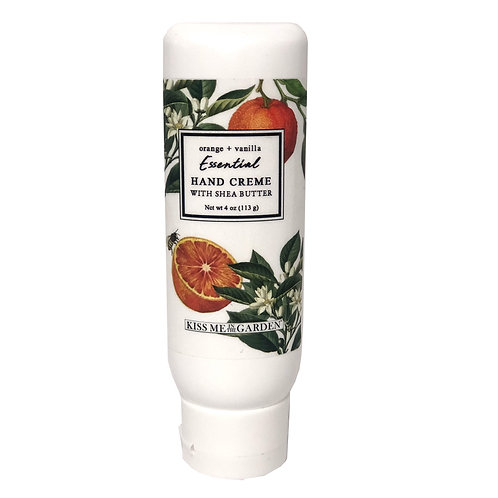 Orange Vanilla Hand Creme 4 oz