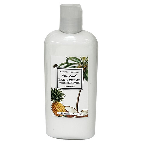 Pineapple Coconut 3 oz travel Hand Creme